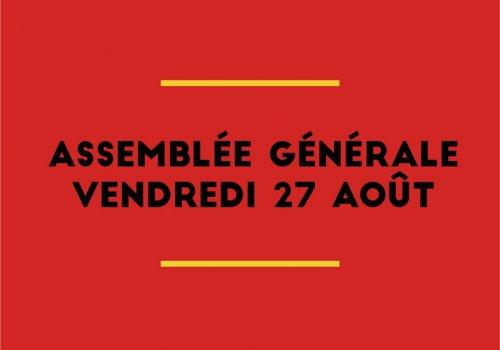 Assemblée générale du club