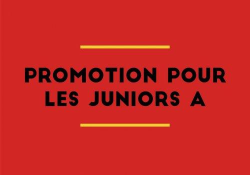 Promotion pour nos A